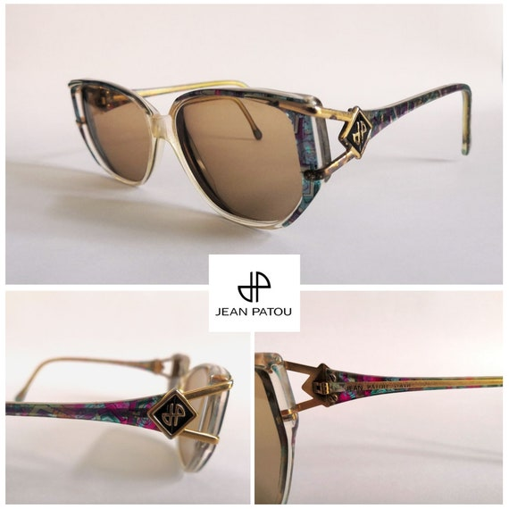 Jean Patou vintage glasses