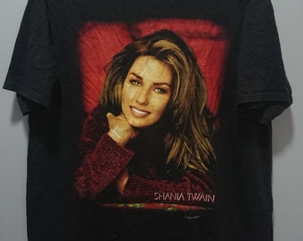 118913ab4 Vintage 1998 Shania Twain T-Shirt/Single Stitch/Size XL /You're Still The  One Come On Over Era Classic 90s Pop Country/