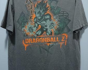 0828fe82 Vintage 2002 Second hand Dragon Ball Z T-Shirt /Son Goku/Comics  Moive/Anime/Son Gohan/Vegeta