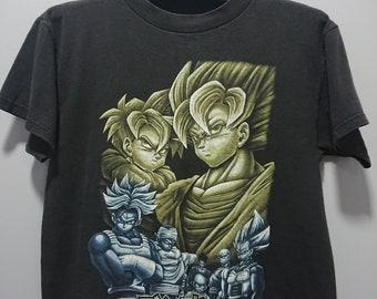 d5377e14 Vintage 1999 Second hand Dragon Ball Z T-Shirt/Made in USA /Son Goku/Comics  Moive/Anime/Son Gohan/Vegeta