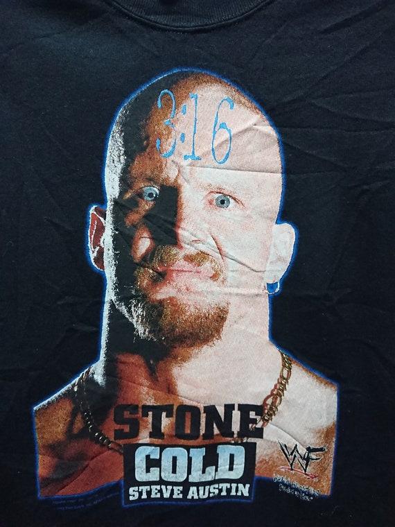 Vintage 1998 Stone Cold Steve Austin Sweatshirt/3… - image 2