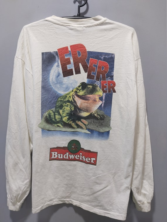 Vintage 1995 Budweiser Second hand Long sleeve T-S