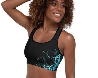 Hawaiian Friend of Lovable Alien Running Costume Sports bra