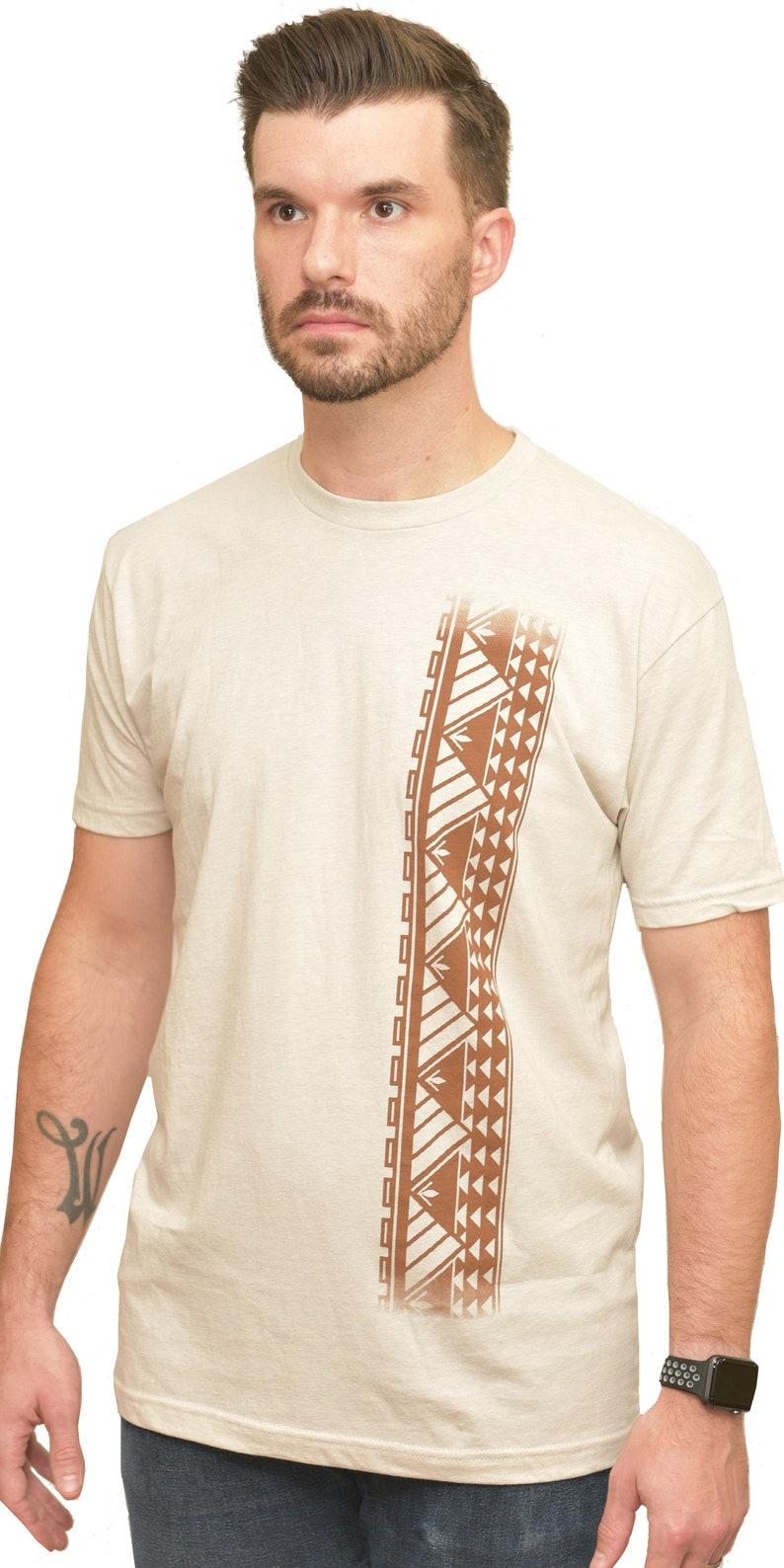 9c015d2e1e2c Ori Active Men's Long Sleeve Cotton Shirt with Samoan   Etsy