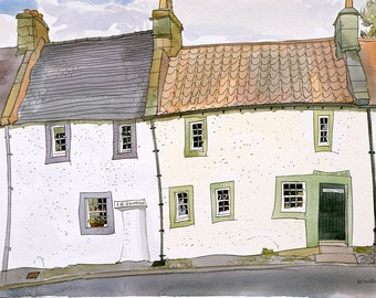 Cross Wynd, Falkland, Fife