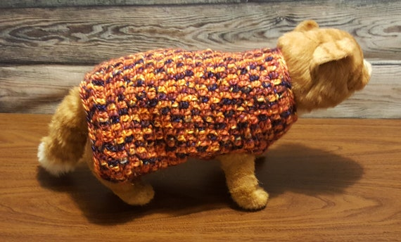 Crochet Le Chat Blanc Cat Hoodie Pullover Sweater Free Pattern ... | 344x570