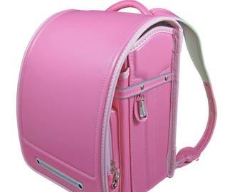 Randoseru/Japanese satchel/Japanese school bag/backpack, 1.3 kg pink light!