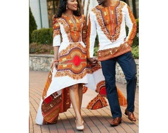 1fc20691022 African couples outfit   African couple cloths   African couple wedding African  couple set   African couple matching outfits dashiki dress