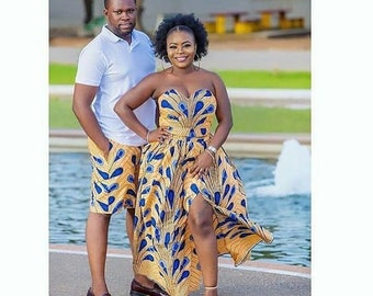 f81170b9b05 African couples outfit   African couple cloths   African couple wedding   African  couple set   African couple matching outfits