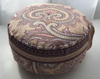 Yoga / Meditation Pillow / Seat Pillow / Floor Pillow / Round Pillow / Decoration + Meditation Exercise - Cotton - Washable - Customizable