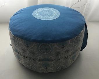 Yoga Pillow/Meditation Pillow/Floor Pillow/Seat Pillow/Decoration Pillow - Cotton- INDIVIDUALISIERBAR