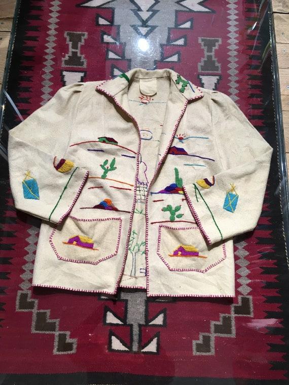Mexican jacket vintage handmade
