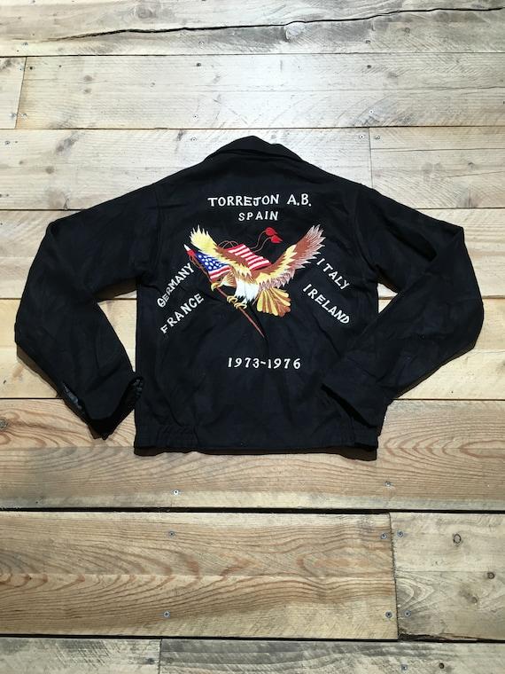 Souvenir Jacket Vintage Blouson Laine Vintage