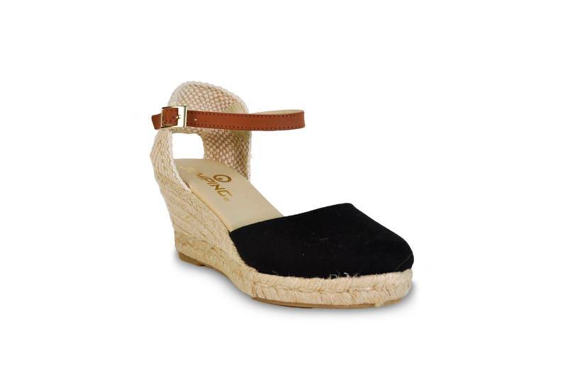 a25da9d29d1e8 Wedge sandals black wedges espadrilles wedge espadrilles