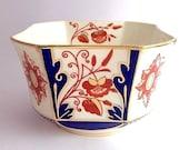 Stunning Imari Wileman sugar bowl c.1880 in Japan pattern 3476 FREE SHIPPING
