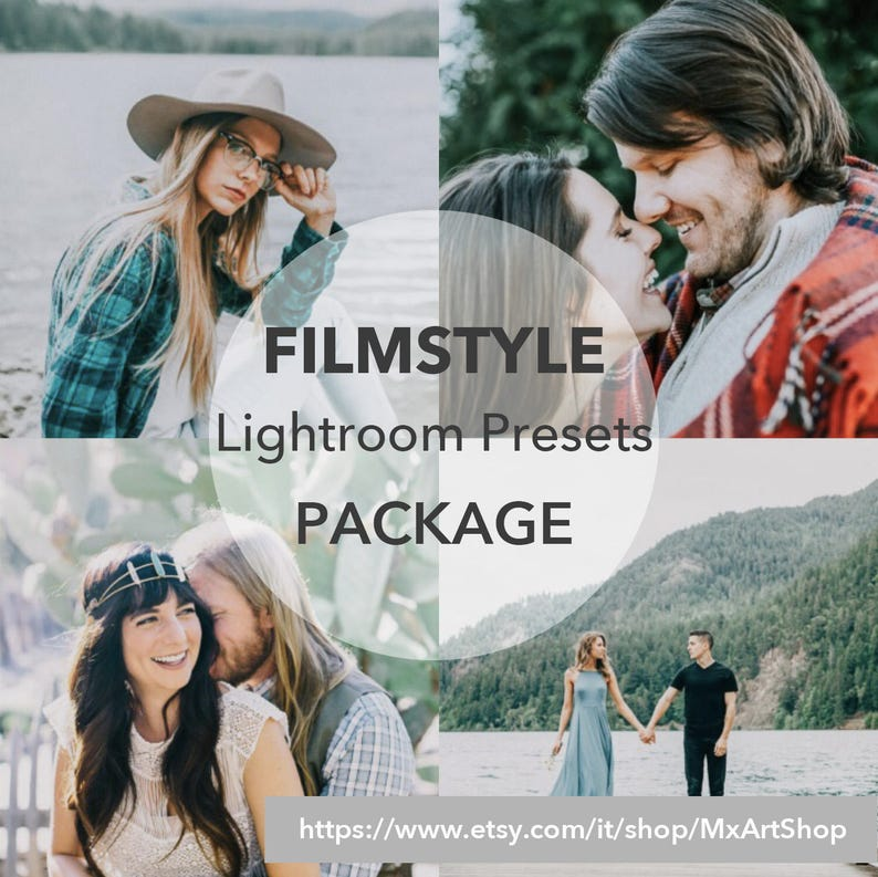 55 Presets&36 Tools Package FILM STYLE Lightroom Presets Overlays,  lifestyle, nature, landscape, blogger - Fuji, Leica, Nikon, Sony, Canon