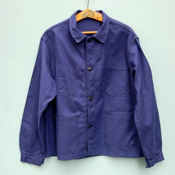 French work jacket, vintage chore jacket for men s