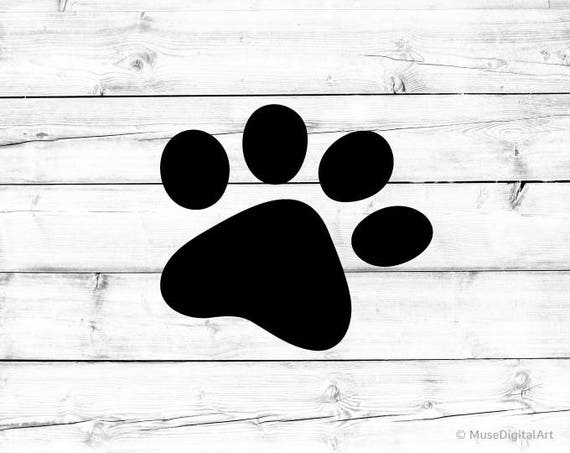 Paw Svg Dog Paw Svg Paw Print Svg Paw Silhouette Svg Cat Paw Svg Dog Svg  Dog Mom Svg Cat Mom Svg Vector File Svg for Cricut and Silhouette