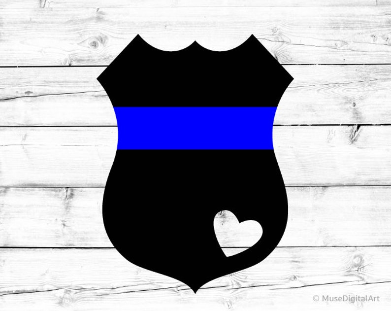 9b9c6fd5730 Police Badge Svg Police Badge Heart Svg Blue Lives Matter Svg