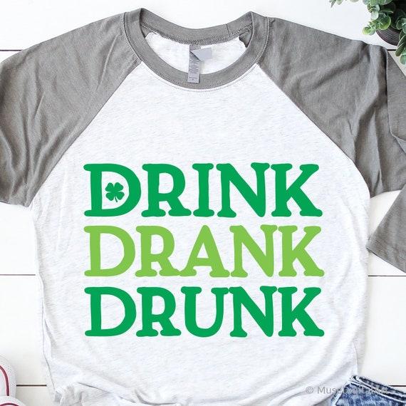 12a49cb68 Funny St Patricks Day Svg Irish Drinking Shenanigans Svg | Etsy