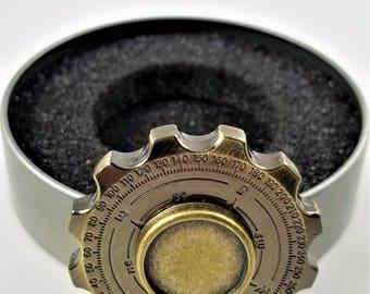 Compass Zinc Alloy Metal Fidget Spinner