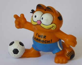 Garfield, I Who is fool!, figure with Football