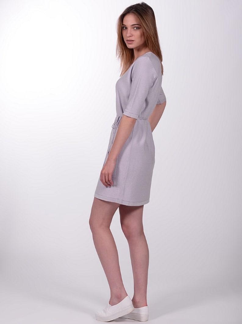 2082d8885d3fc Lilac Dress Amethyst Purple Violet Short Glitter Pockets Mini | Etsy