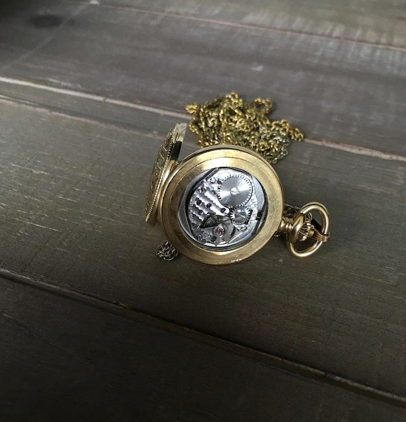 0fad8682d207 Mechanical chain watch seventeen 17 jewels