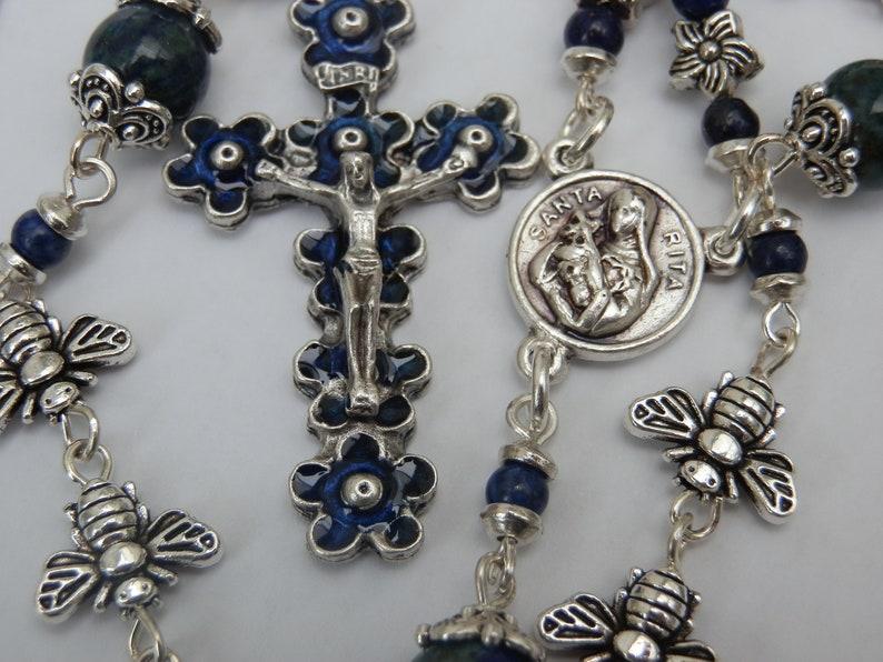 Enamel Crucifix Baby Blessings Christening Gift Tibetan Silver