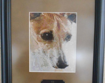 ITALIAN GREYHOUND pattern for counted cross stitch