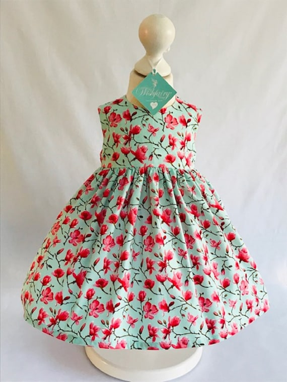 Vintage Inspired Baby Dress 12-18 months
