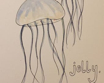 CARD: jelly baby