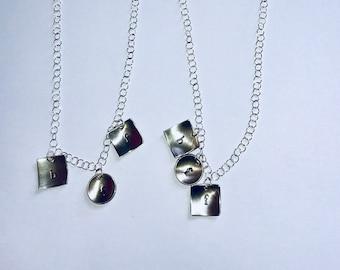 Best Friends Forever Charm Adjustable Necklace