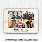 Custom Photo Blanket Personalized Photo Blanket Photo Collage Blanket Photo Memory Blanket Family Blanket Custom Wedding Gift This Is Us