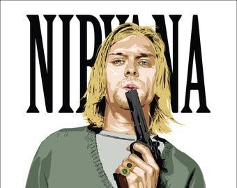 Nirvana Nevermind album cover