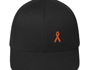 7e117814243 MS Awareness Fitted Baseball Cap with Flexfit