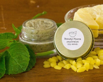 Organic Lip Scrub by Beauty Pharm
