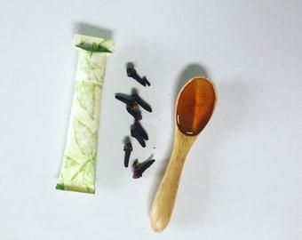 Clove Lip Balm || Natural and Organic || Lip Conditioner || Ecofriendly, Biodegradable Tube || Shea Butter, Natural Flavor, Cocoa Butter...
