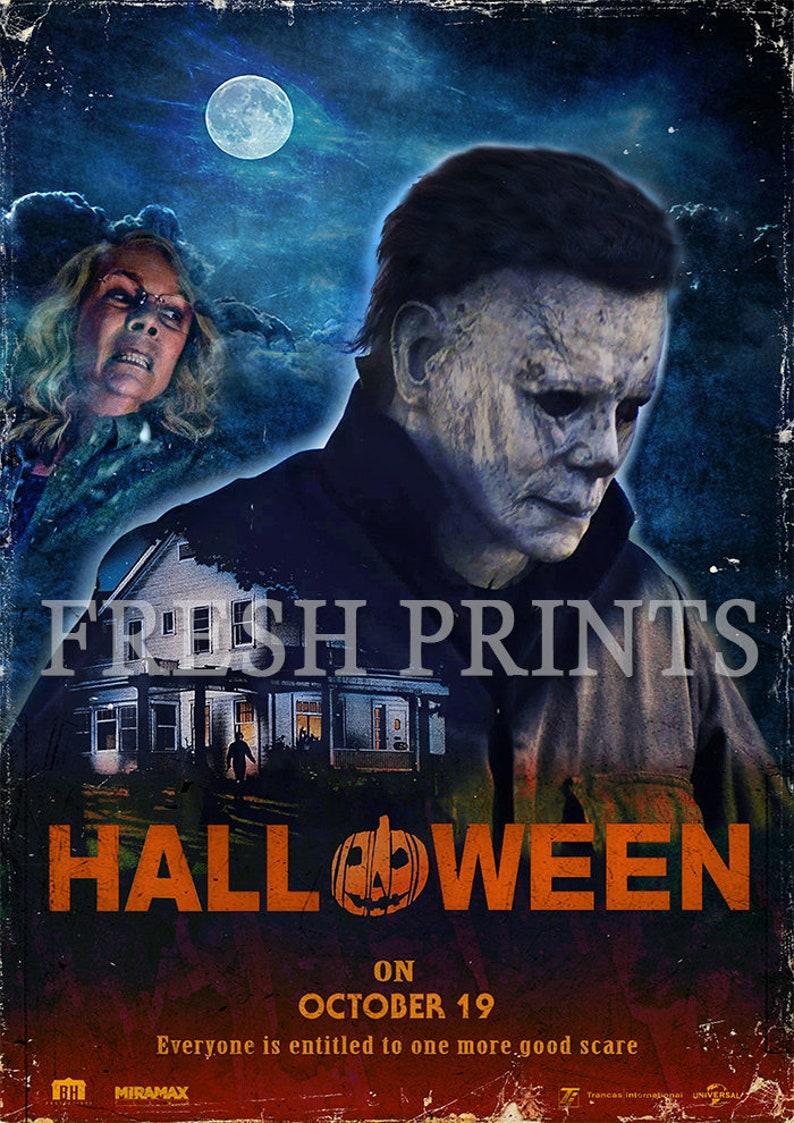 Halloween Movie Poster 2018.Halloween 2018 Movie Poster