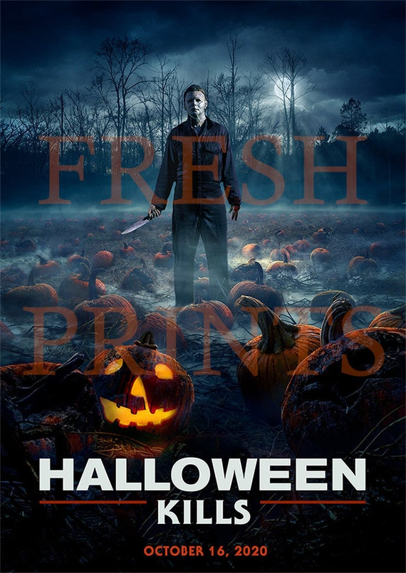 HALLOWEEN KILLS movie poster print