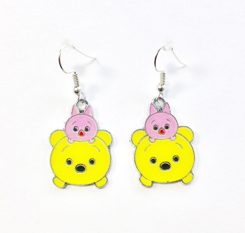 edd729400 Disney inspired TSUM TSUM Winnie the Pooh and Piglet Character   Etsy