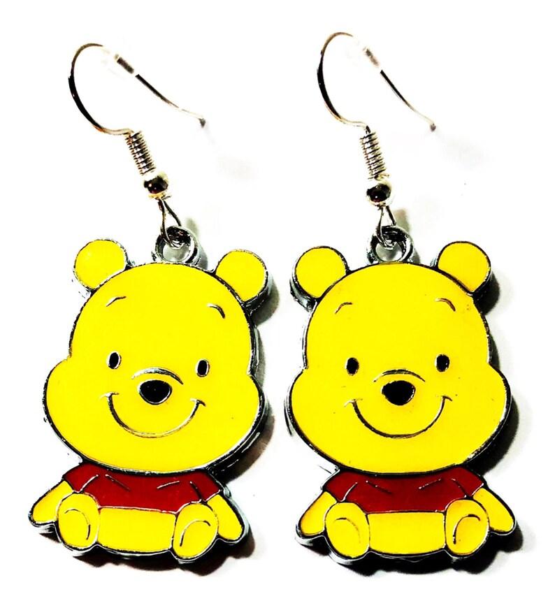 54ea0a3f1 Disney inspired Winnie the Pooh Character Drop Dangle Hook   Etsy