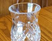 Waterford Crystal Tea Light Fairy Lamp Hurricane Lamp Shade 6.25 quot