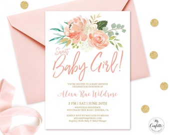 Baby shower invitation etsy best selling items favorite favorited add to added greenery baby shower invitation filmwisefo