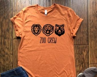 ec01c229e04 lions tigers bears zoo crew shirt   zoo trip shirt   adventure shirt    wildlife squad goals shirt