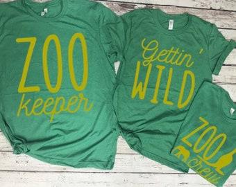 2b31e267cbe Zoo Crew Bridal Party Shirts