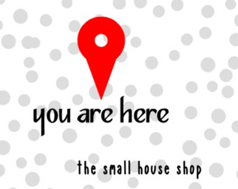 you are here map destination icon SVG