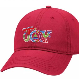 Women S Merry Christmas Holiday Ladies Fit Dad Hat With Etsy