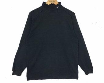 4aebc293 NIKE GOLF Black Sweatshirt Turtleneck Medium Size Sportswear Hip Hop Swag  Casual Black Color Skateboard Jacket Hoodie