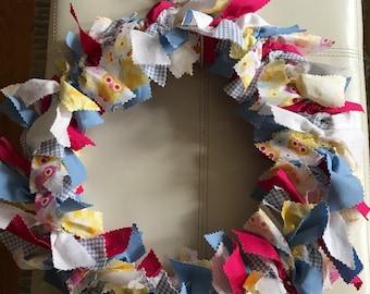 Spring owl wreath